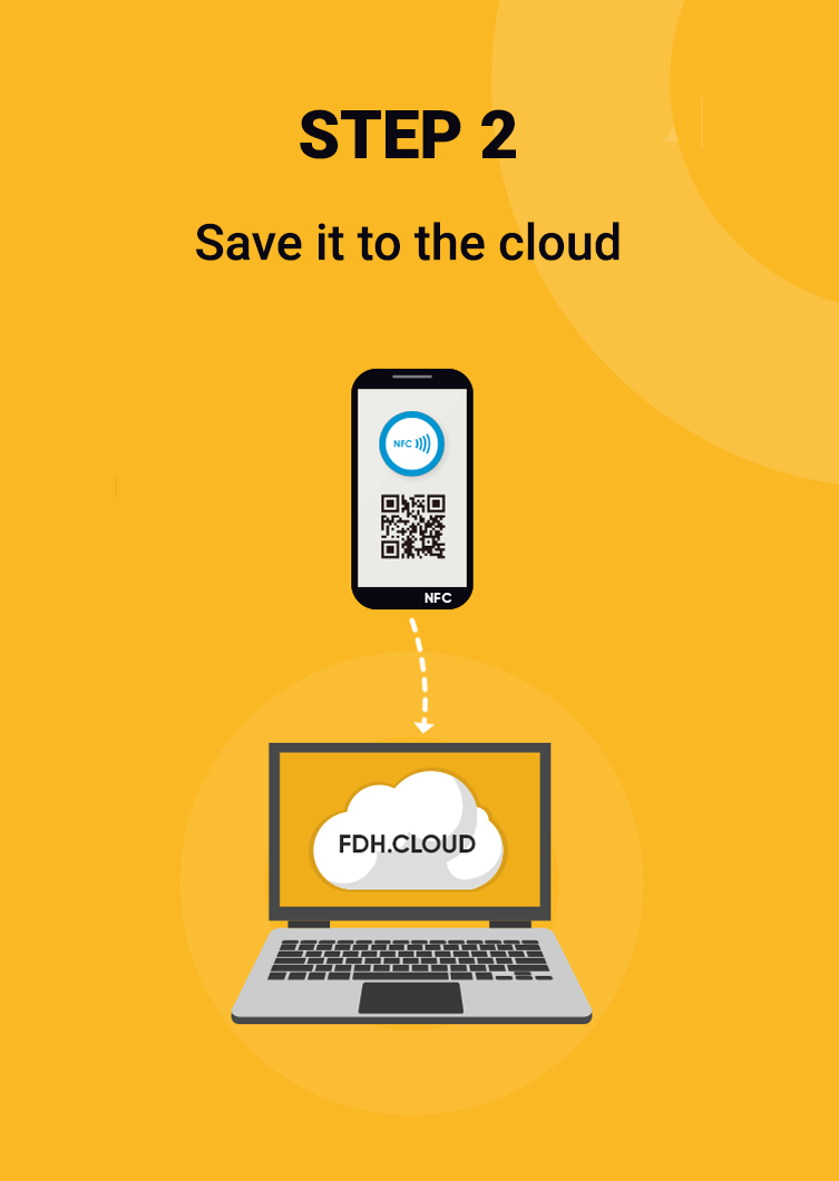 Save it to the cloud